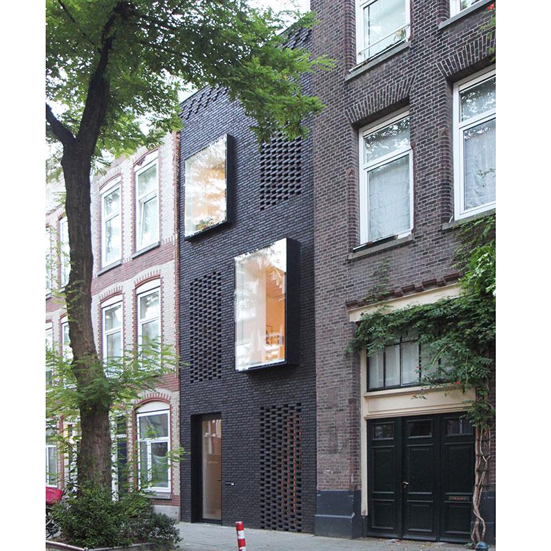 Thiết kế nhà hẹp và dài của cặp đôi kiến trúc sư ở Rottedam