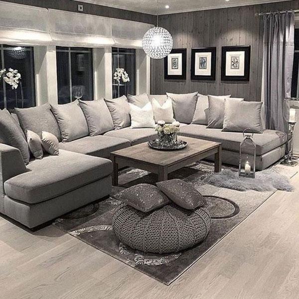 Thiết kế nội thất phòng khách đẹp với 4 bước